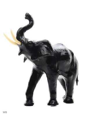 Статуэтка Слон ETHNIC CHIC. Цвет: черный