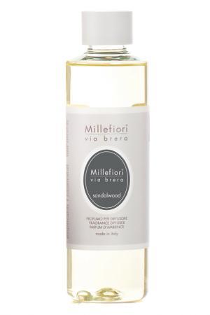 Рефилл Сандаловое дерево 250мл millefiori milano. Цвет: белый