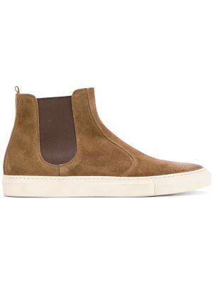 Ботинки на резиновой подошве Buttero. Цвет: коричневый