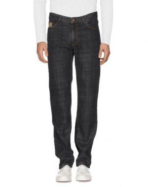 Джинсовые брюки ALVIERO MARTINI 1a CLASSE. Цвет: стальной серый
