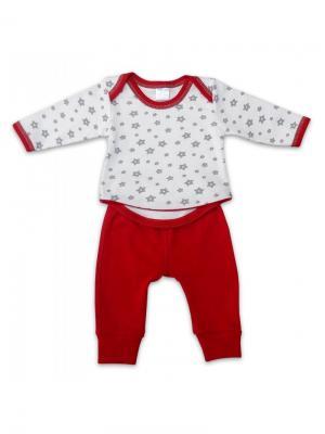 Пижама КИТ. Цвет: красный,белый
