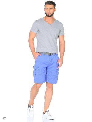 Бермуды BRUNOTTI. Цвет: синий, лазурный