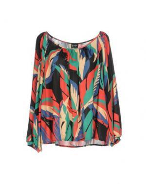 Блузка PF PAOLA FRANI. Цвет: красный