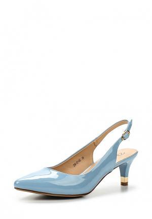 Босоножки Dino Ricci Select. Цвет: голубой
