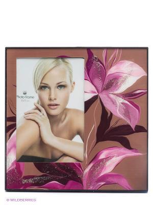 Фоторамка  lancome VELD-CO. Цвет: розовый, коричневый