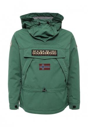 Куртка утепленная Napapijri. Цвет: зеленый
