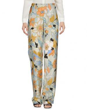 Повседневные брюки MACRÍ. Цвет: светло-зеленый