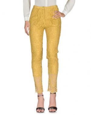 Повседневные брюки SOHO DE LUXE. Цвет: охра
