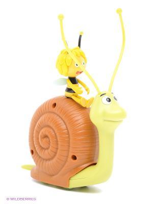 Каталка Улитка IMC toys. Цвет: коричневый, желтый, зеленый