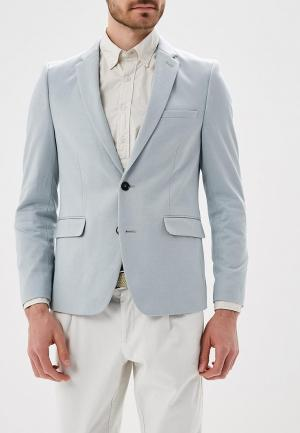 Пиджак Burton Menswear London. Цвет: бирюзовый