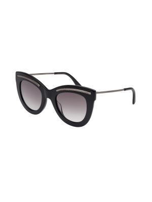 Солнцезащитные очки Bottega Veneta. Цвет: черный