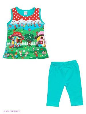 Комплект одежды CALAMITA. Цвет: морская волна