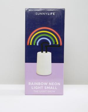 Sunnylife Неоновый светильник в виде радуги. Цвет: мульти