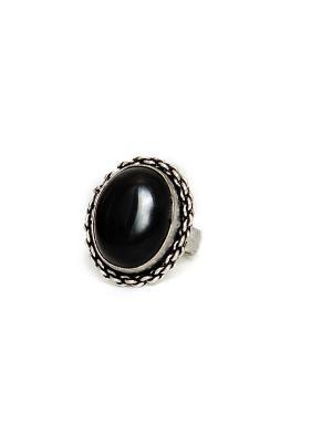 Кольцо Indira. Цвет: черный