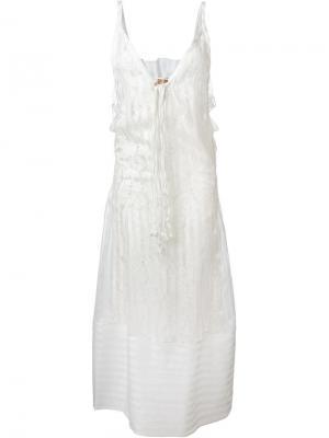 Кружевное платье Nº21. Цвет: белый