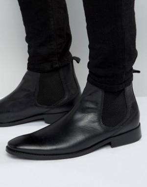 Base London Кожаные ботинки челси Cheshire. Цвет: черный