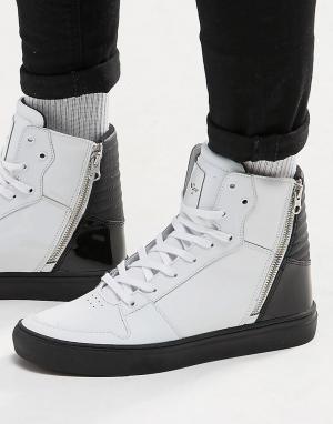 Creative Recreation Высокие кроссовки Adonis. Цвет: белый