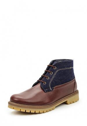 Ботинки Bekerandmiller. Цвет: разноцветный