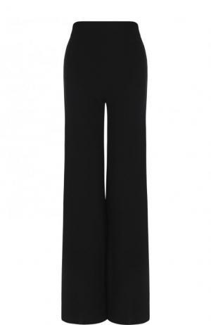 Однотонные расклешенные брюки со стрелками Roland Mouret. Цвет: черный