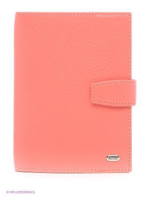 Обложка для документов Petek. Цвет: коралловый, розовый