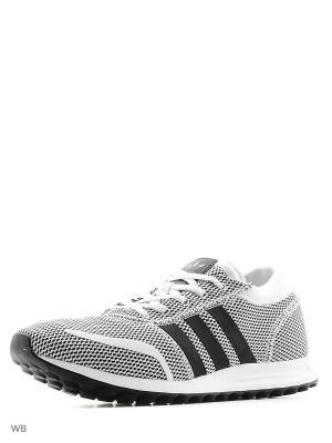 Кроссовки LOS ANGELES Adidas. Цвет: серый, белый