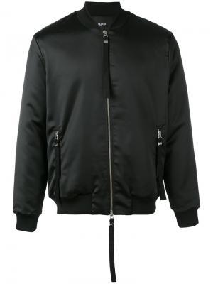 Куртка-бомбер Sunsilk Blood Brother. Цвет: чёрный
