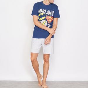 Пижама с шортами BATMAN. Цвет: темно-синий/ серый
