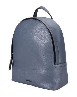 Рюкзаки и сумки на пояс CALVIN KLEIN. Цвет: темно-синий