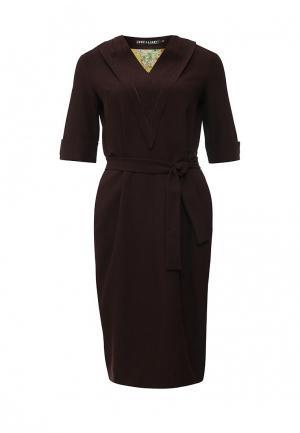 Платье Love & Light. Цвет: коричневый