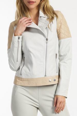 Куртка Ibana. Цвет: бежевый