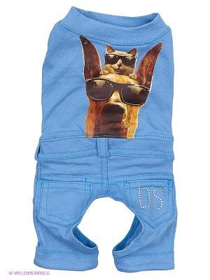 Костюм Doggy Style. Цвет: синий