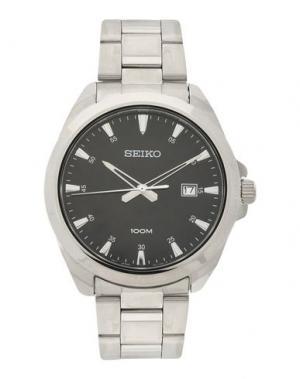 Наручные часы SEIKO. Цвет: черный