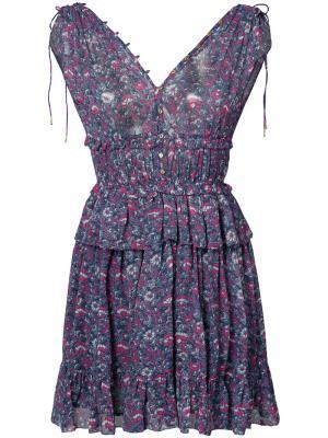Платье Noelle Ulla Johnson. Цвет: синий