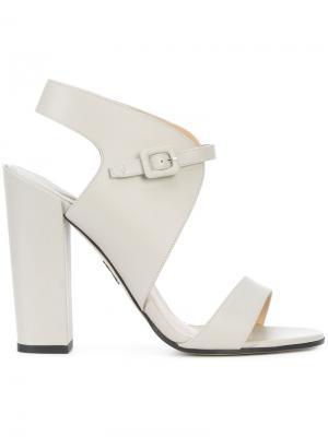 Buckled sandals Paul Andrew. Цвет: серый