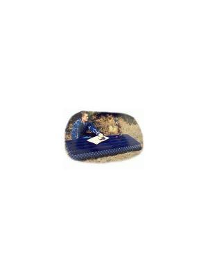 Надувной матрас -кров.дауни 76х191х22см Intex. Цвет: синий