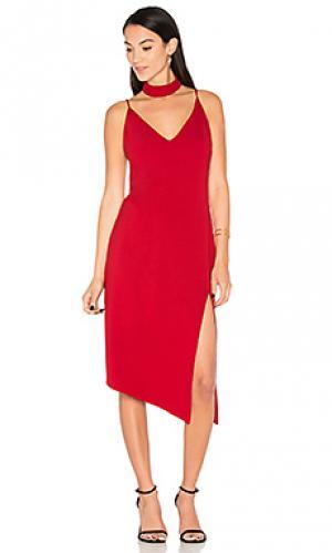 Платье nena Backstage. Цвет: красный