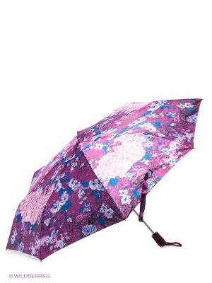 Зонт Eleganzza. Цвет: сиреневый, розовый, синий