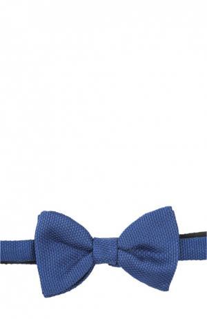 Шелковый галстук-бабочка Lanvin. Цвет: голубой