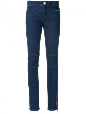 Denim skinny trousers Olympiah. Цвет: синий
