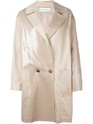 Пальто Tabatha Wanda Nylon. Цвет: телесный
