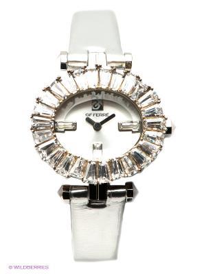 Часы GF Ferre. Цвет: серебристый