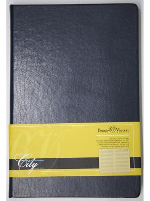 Ежедневник City, А5 Bruno Visconti. Цвет: синий