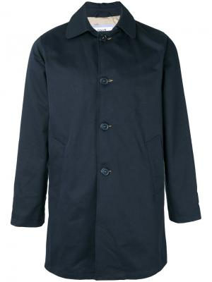 Куртка с вышивкой Lc23. Цвет: синий