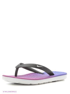 Скакалка Nike. Цвет: фиолетовый