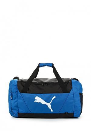Сумка спортивная PUMA. Цвет: голубой