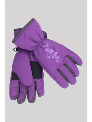 Перчатки OKWAY. Цвет: фиолетовый
