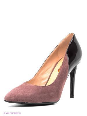 Туфли EVITA. Цвет: лиловый