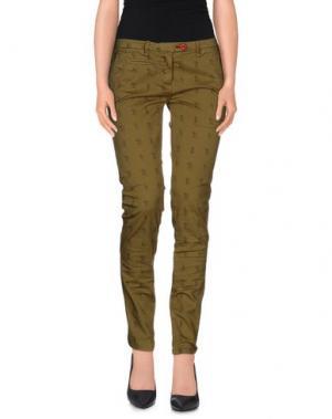 Повседневные брюки SUPERPANTS. Цвет: зеленый-милитари