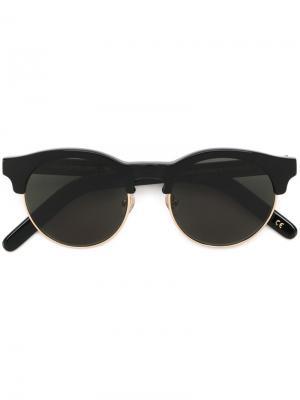 Солнцезащитные очки Smith Han Kjøbenhavn. Цвет: чёрный
