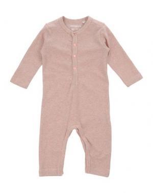 Детский комбинезон IMPS&ELFS. Цвет: пастельно-розовый